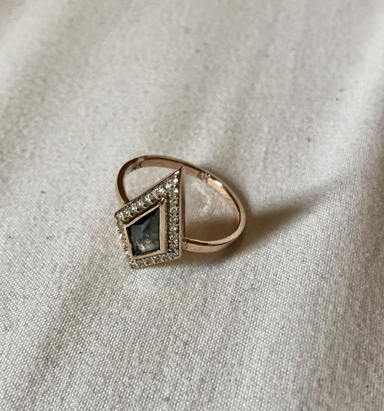 0.65ctw Rose Gold and