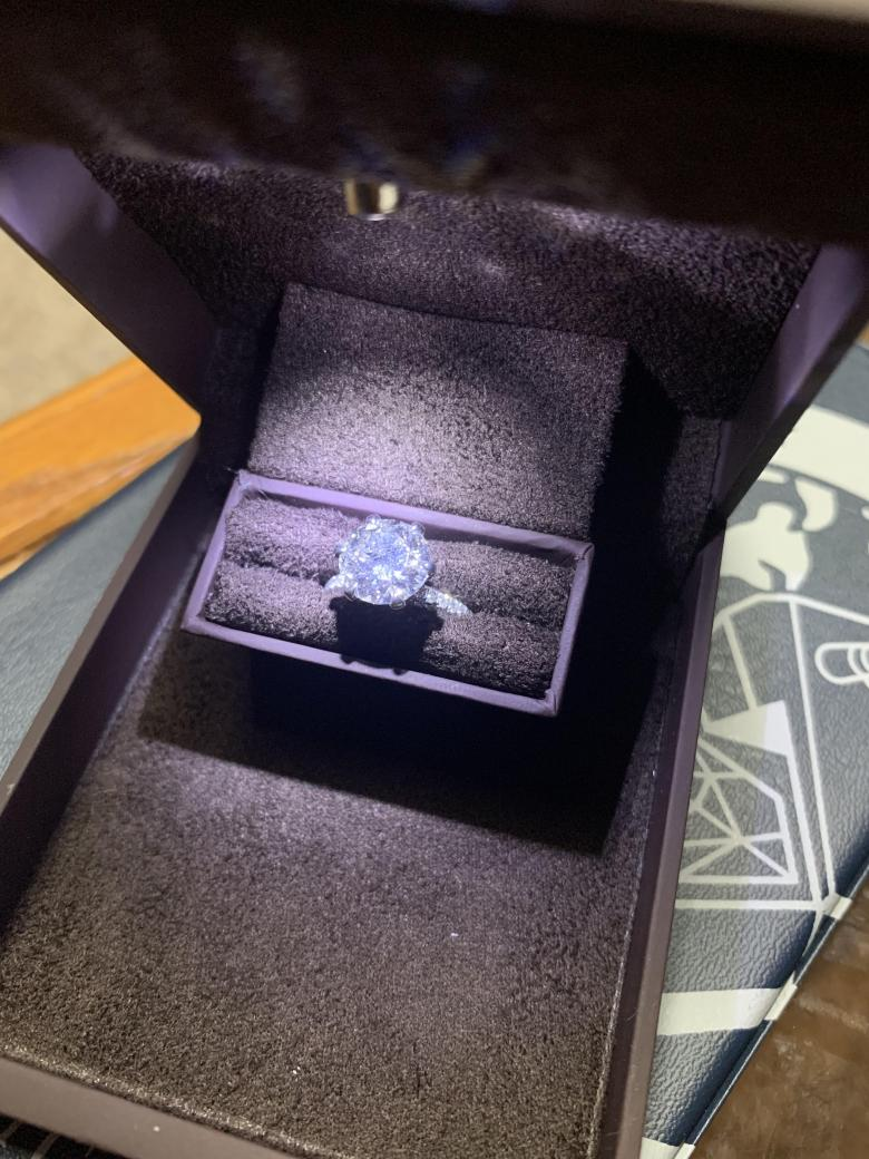2.66 CT Engagement Ring