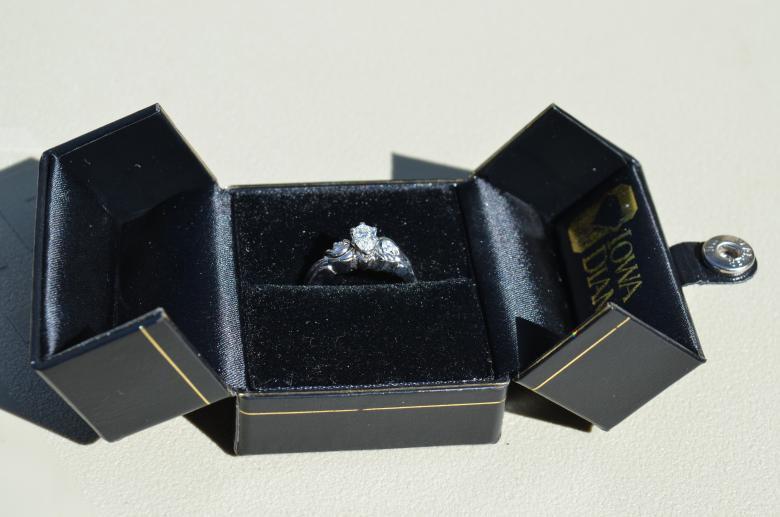 Engagement Ring with Custom