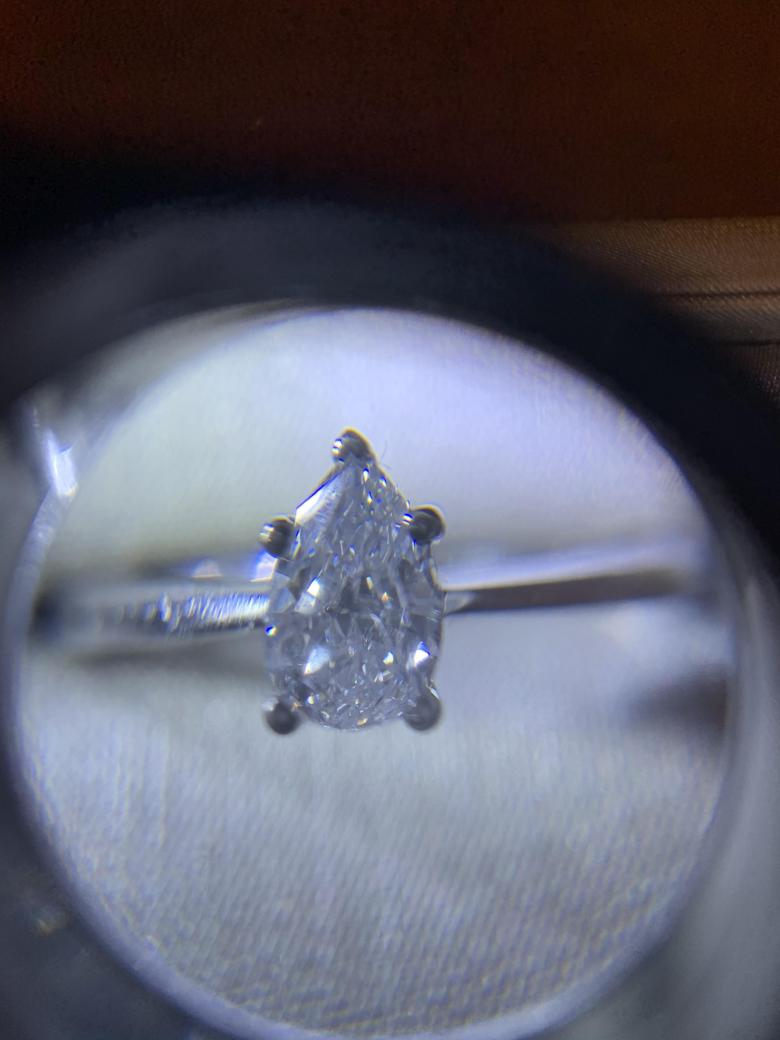 Beautiful Engagement Ring Pear