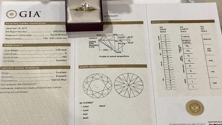 **VIDEO** GIA Certified 2.00ct