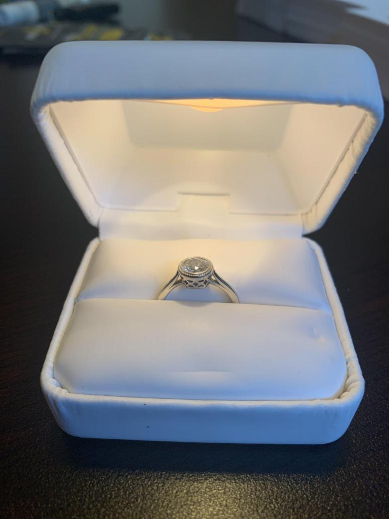 .81CT Engagement Ring