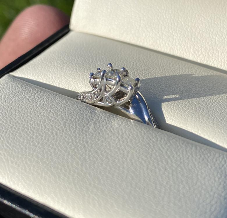 19 Diamond Engagement Ring