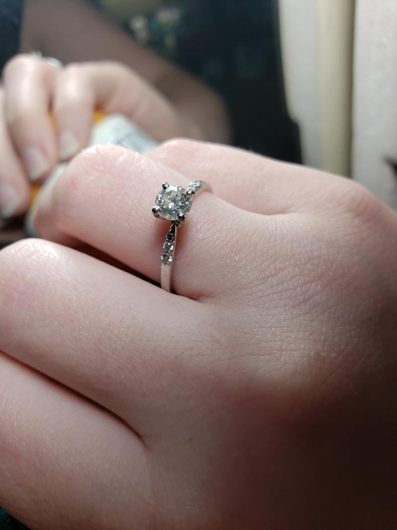 Classic Romantic Style Ring