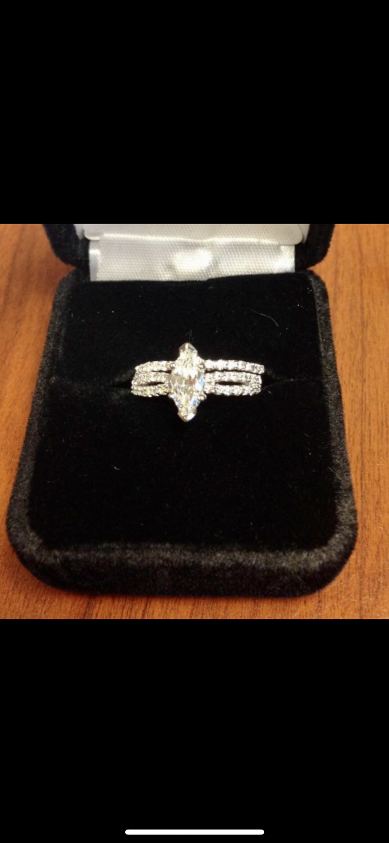 K. Cash Engagement Ring