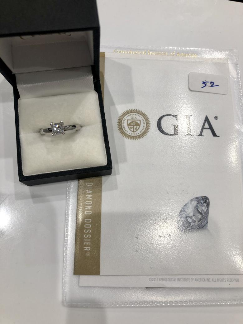 **VIDEO** GIA Certified 0.92ct