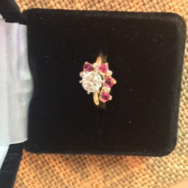 .75 Diamond Solitaire with