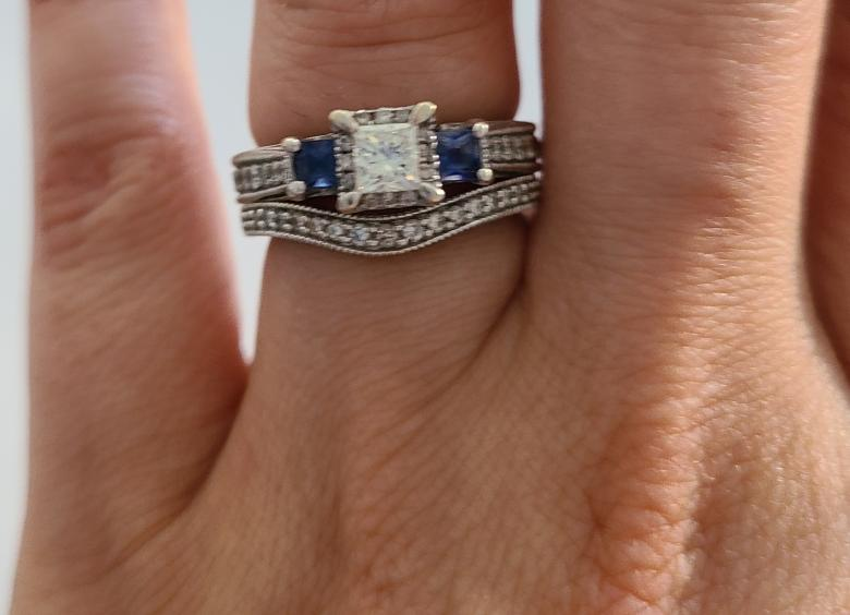 Kay Jewelers Blue Diamond