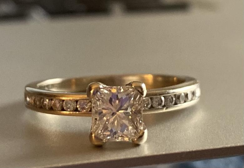 Masters engagement ring