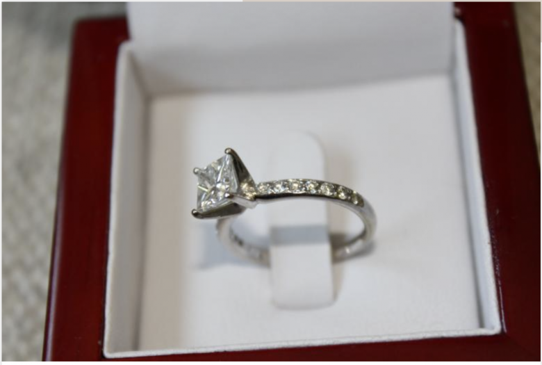 GIA Certified 1.03 ct