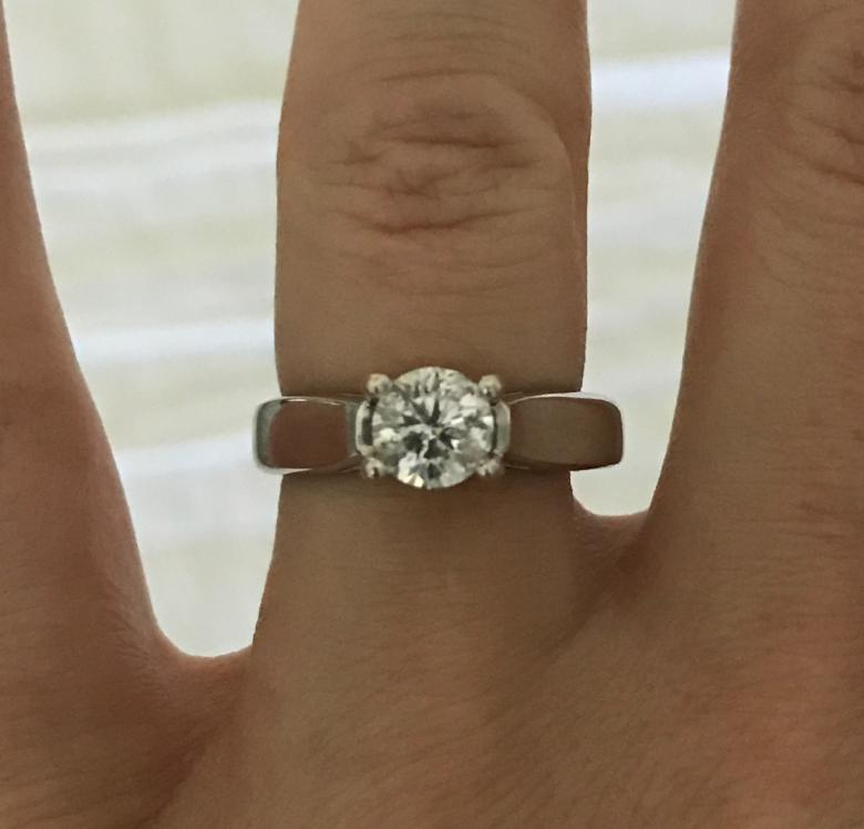 Zales Cathedral Engagement Ring
