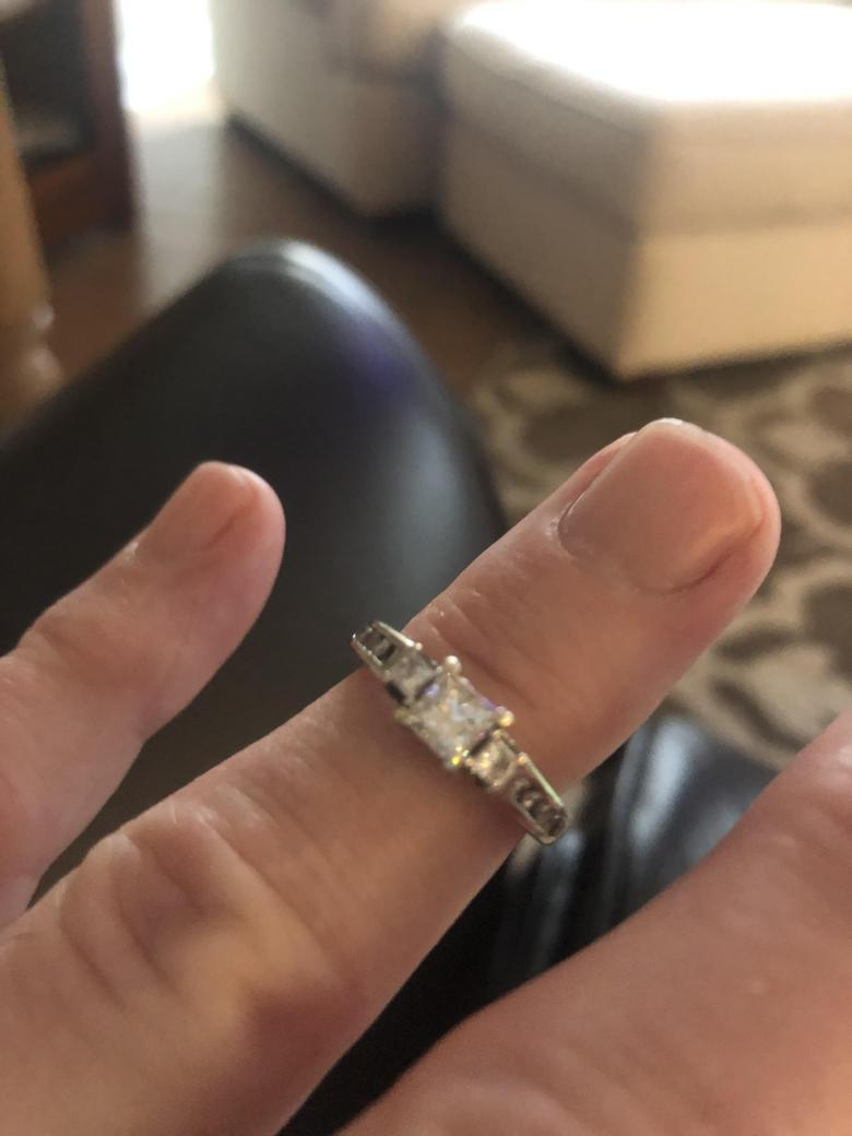 Zales Engagement Ring and