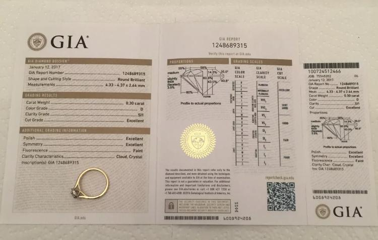 0.45ct GIA Certified Halo