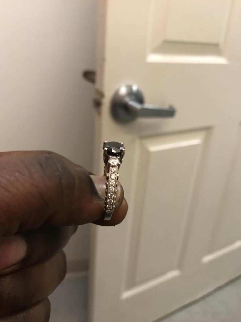 Zales Engagement Ring in