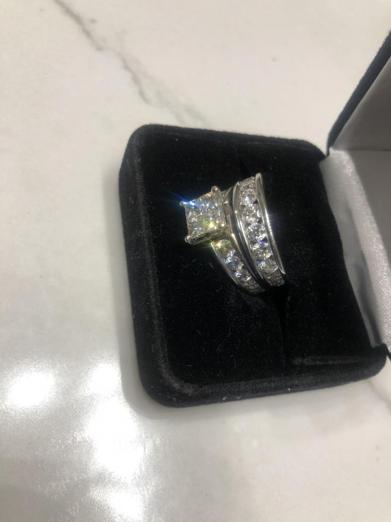 Engagement Ring Set For