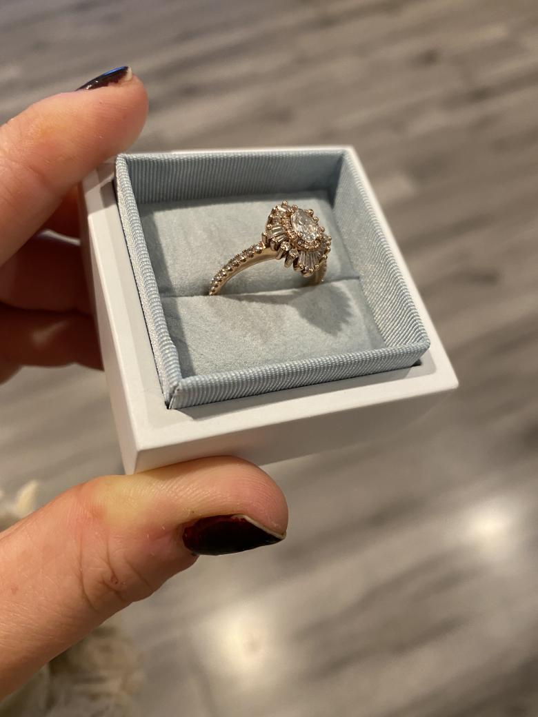 Heidi Gibson Engagement Ring