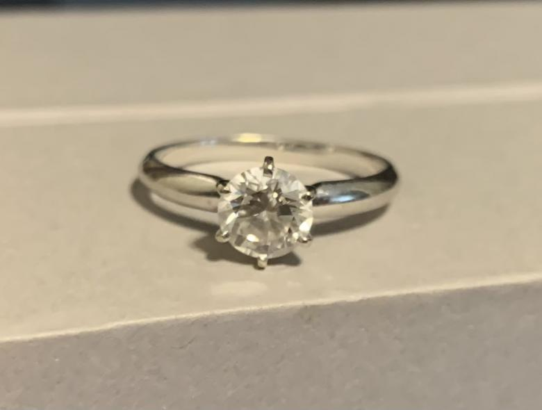 DIAMOND SOLITAIRE RING SET