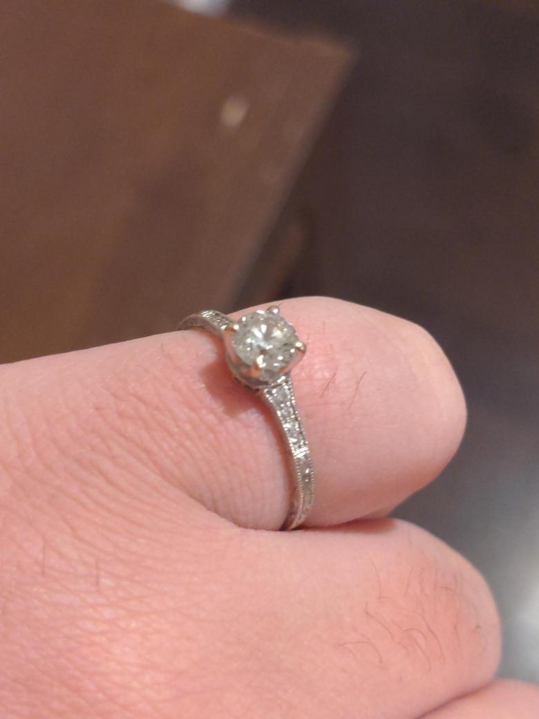 Brilliant Earth Engagement ring