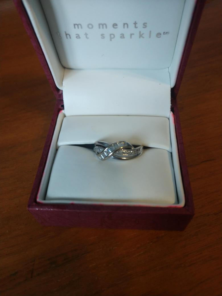 Helzberg engagement ring