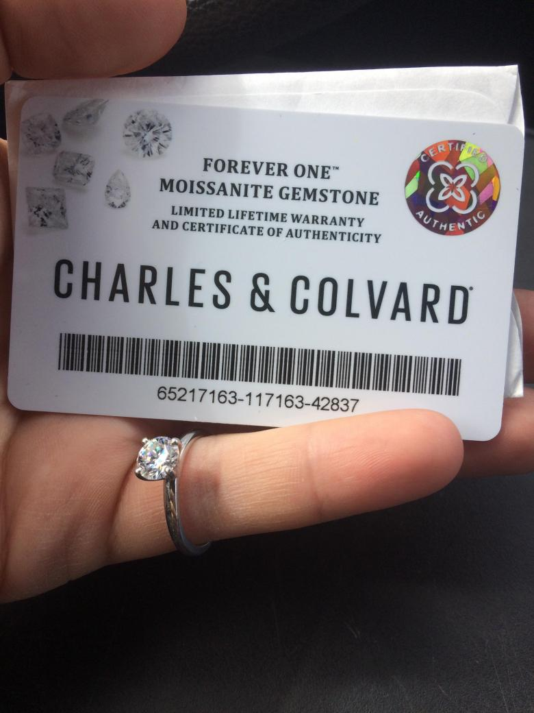 Charles and Covard Moissanite
