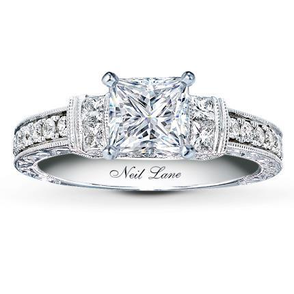 Neil Lane Princess cut