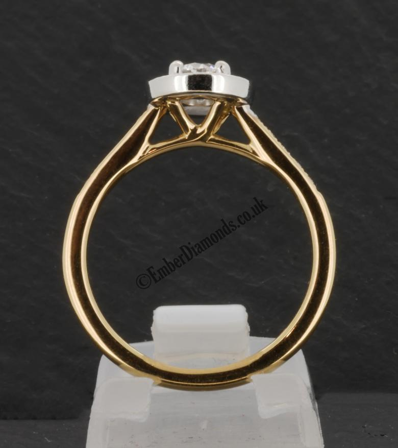 0.45ct GIA Certified D-SI1