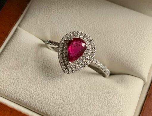 1.04ct Natural Ruby and