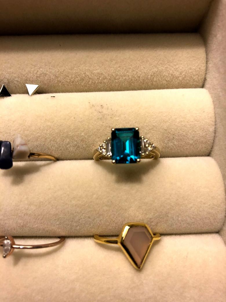 Lab-Grown Emerald Gold Ring