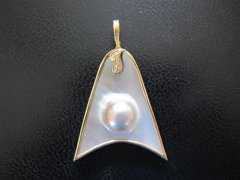 Dome Pearl & Diamond