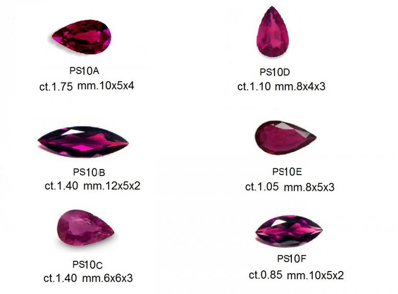 Natural Ruby Siam Lot