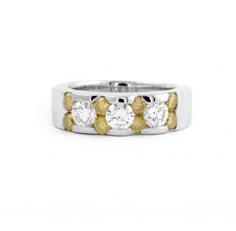 1.68 ct Yellow and