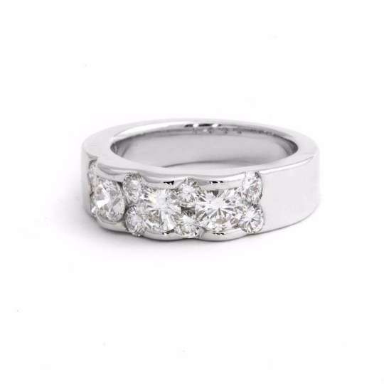 18K White Gold 1.68ct
