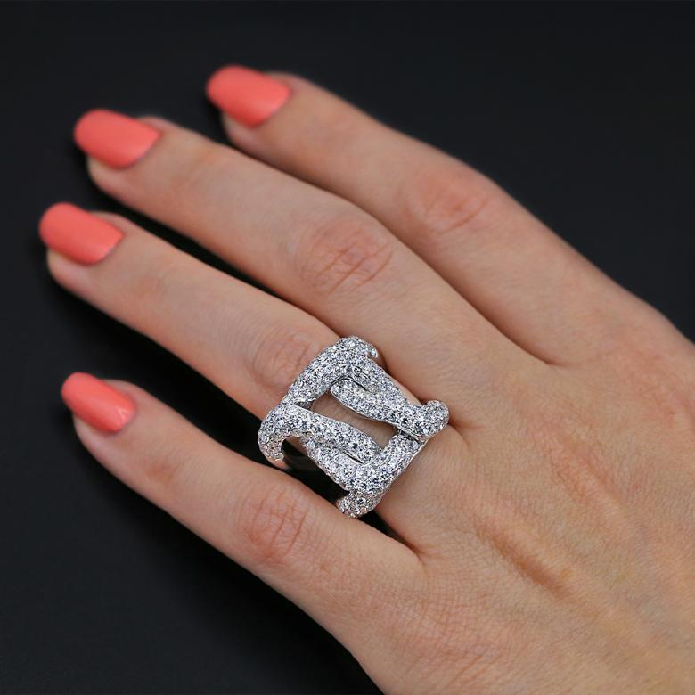 Awesome Cocktail Ring with