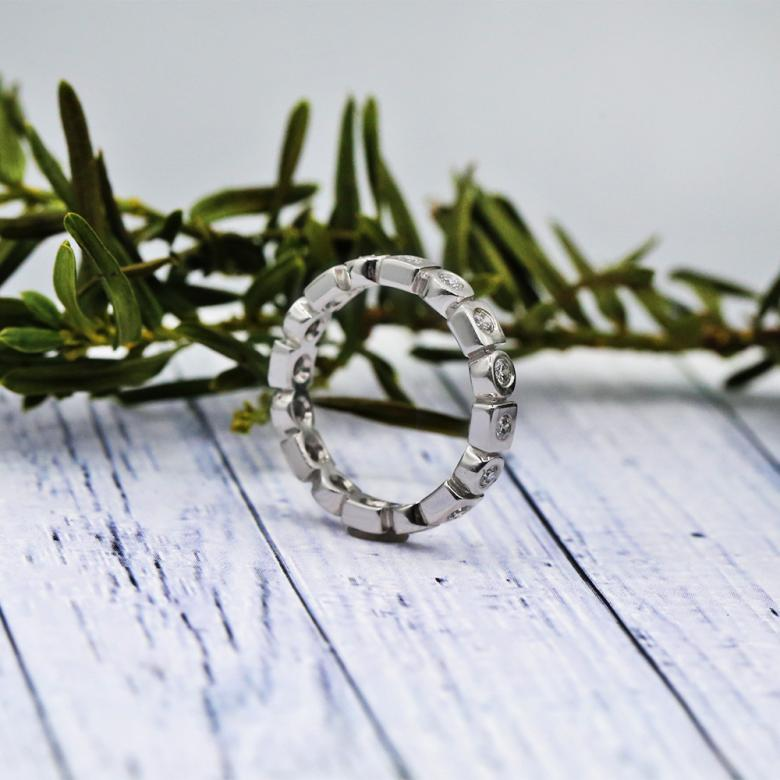 Magical White Gold Eternity