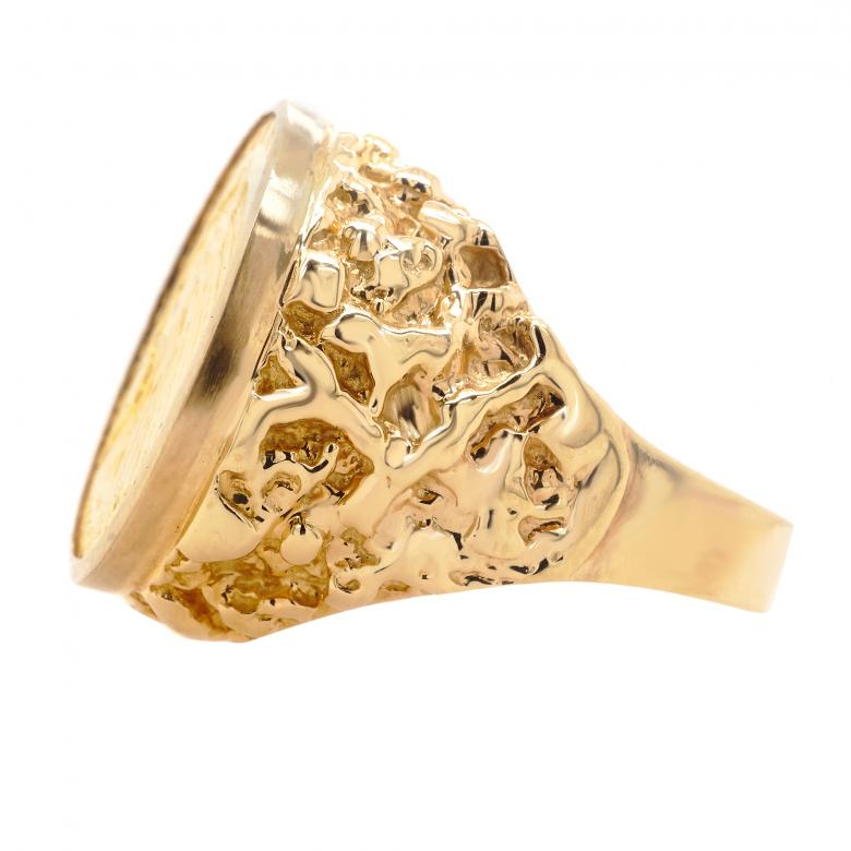 14K Yellow Gold United