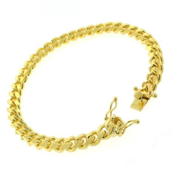 Handmade Men's 14K Yellow