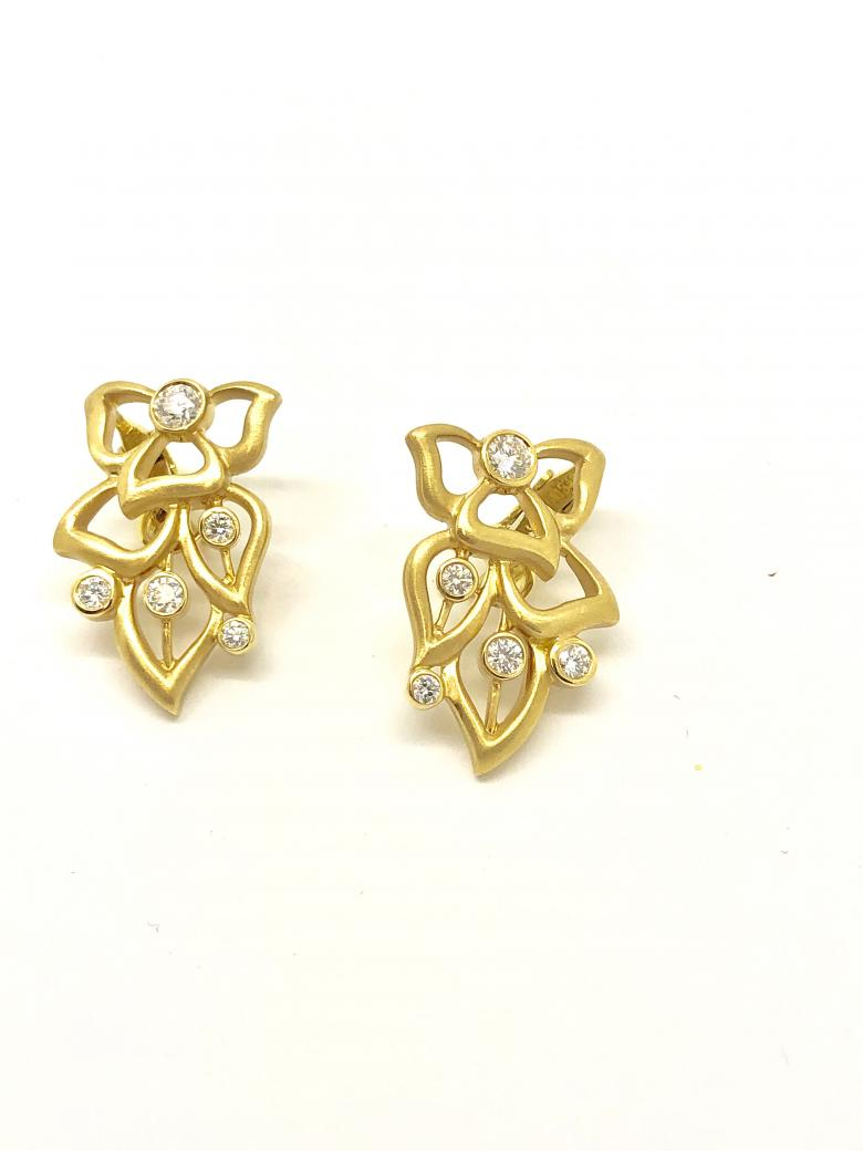 14K Yellow Gold and