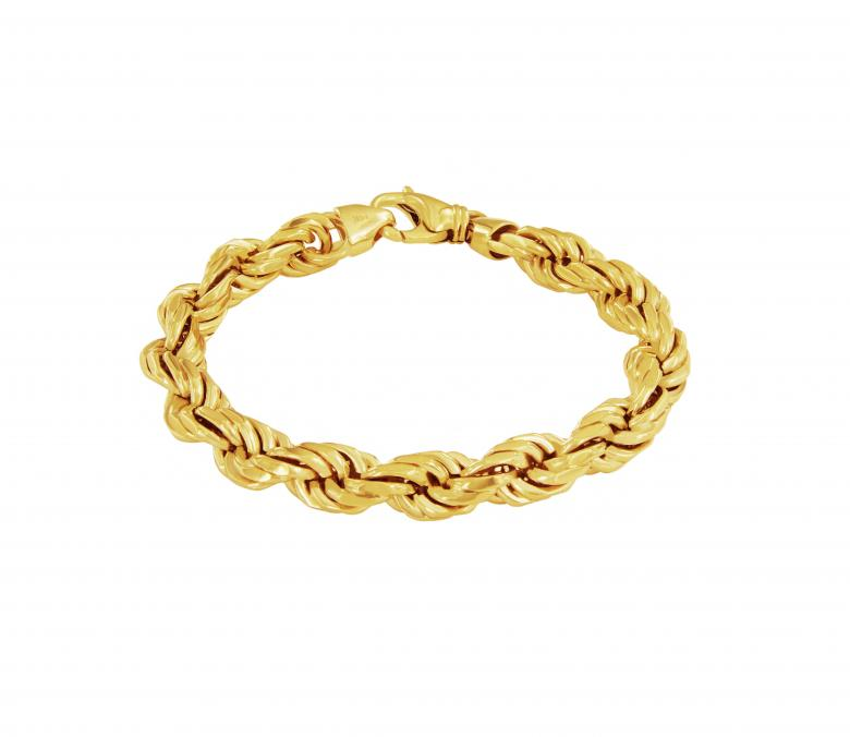 14K Gold Solid Rope