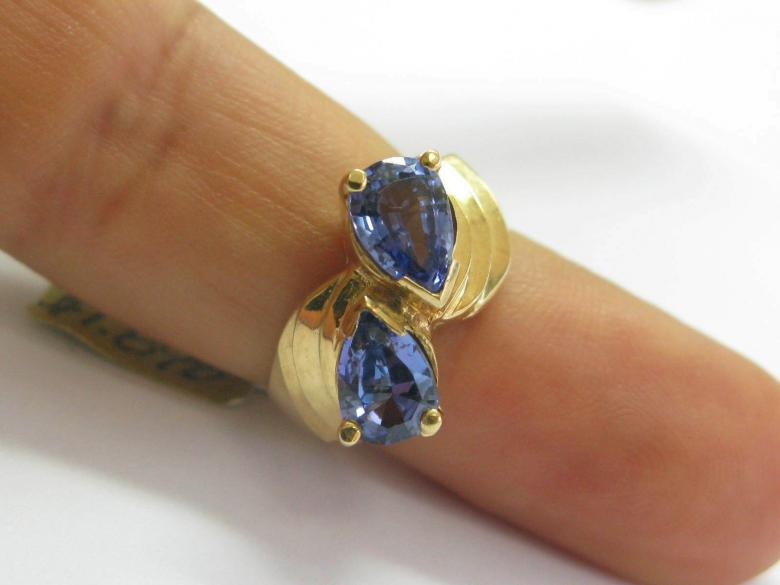 Natural Pear Shape Tanzanite