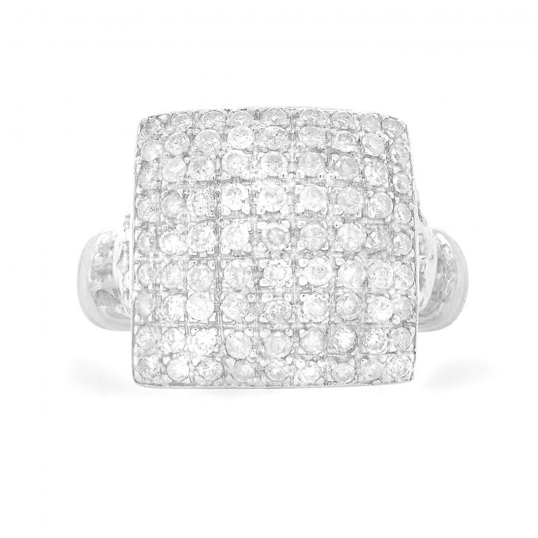 14K White Gold Diamond