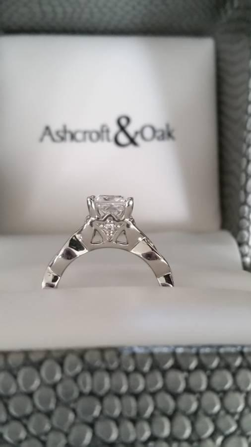 Pre-engament Gold Ring- NEW