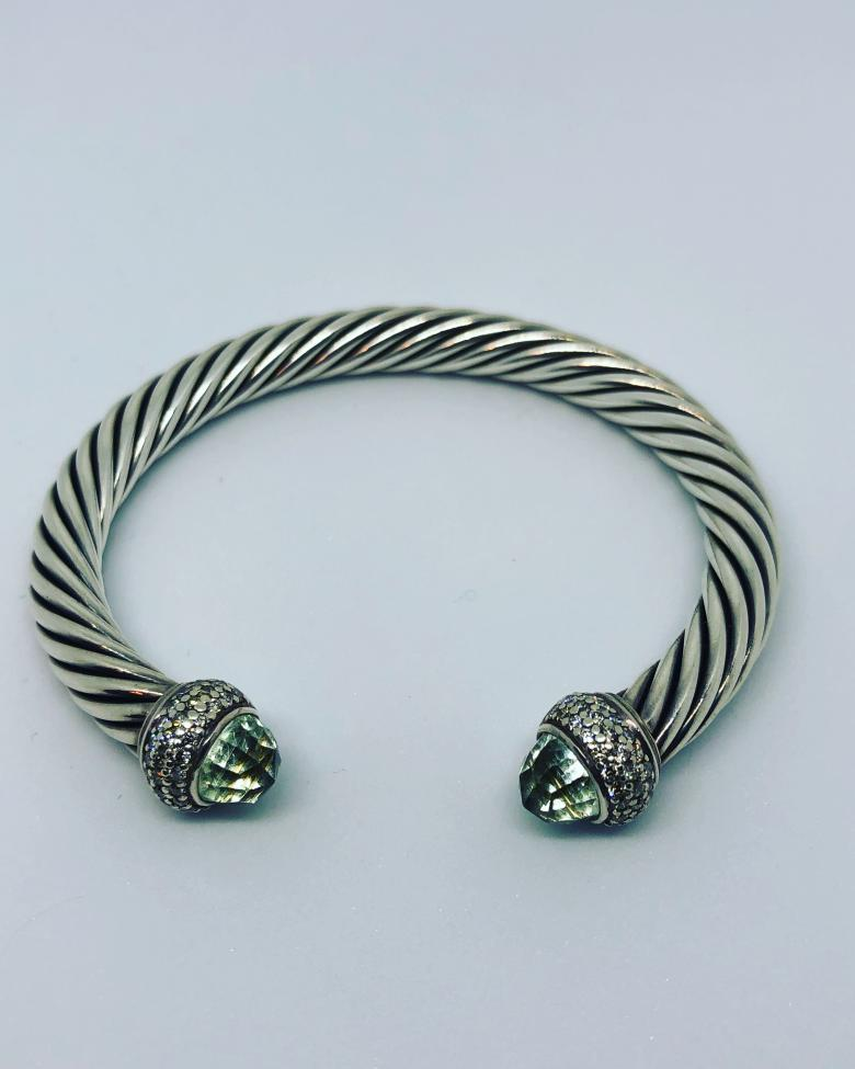 David Yurman 7mm Green