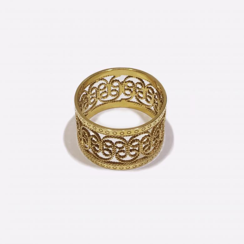 Handmade 14k Yellow Gold
