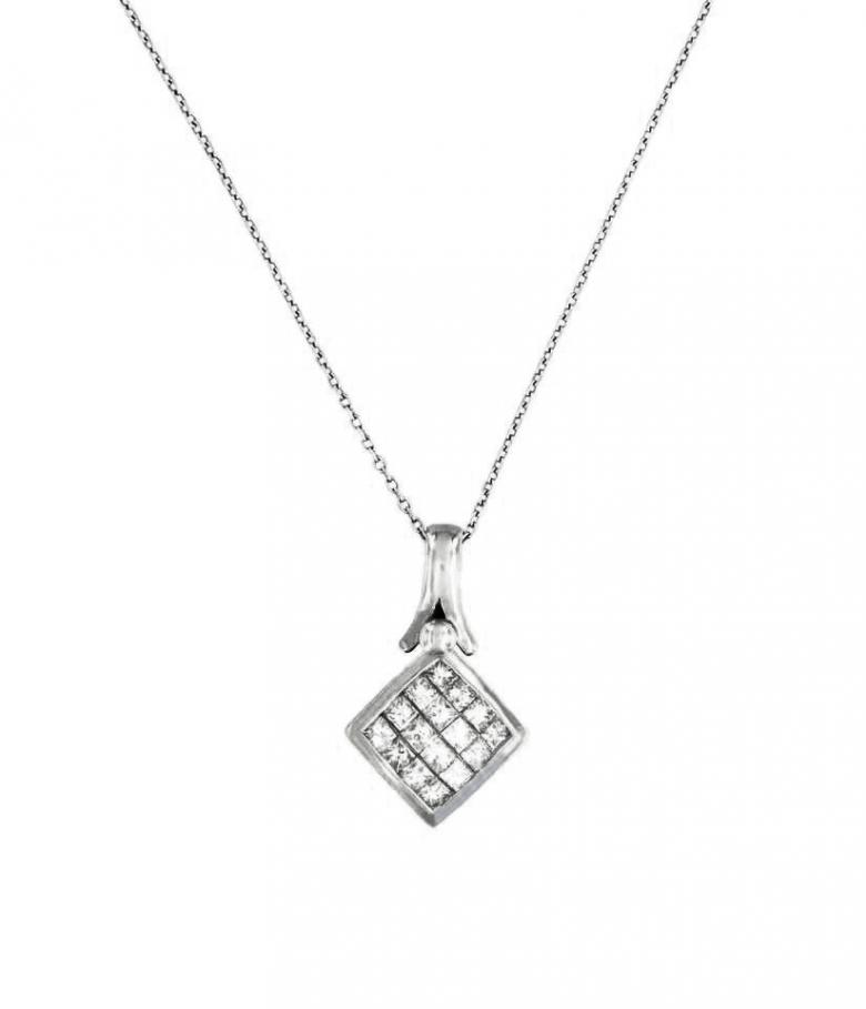 Fancy Rhomb pendant with