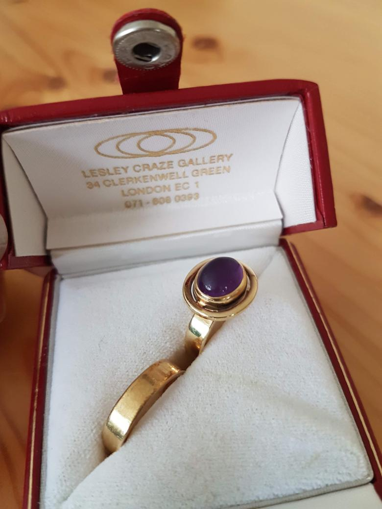 Wendy Ramshaw Gold Ring