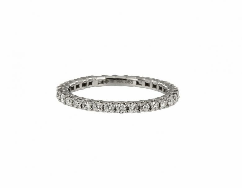 Diamond Wedding Eternity Ring_0.53