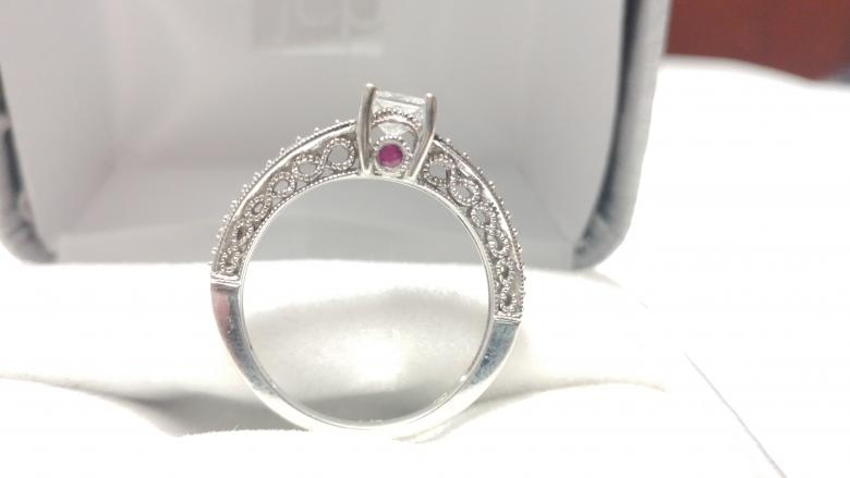 .50ct Princess Cut Ring