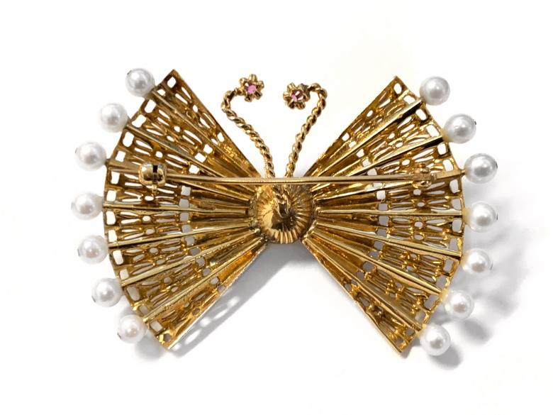 Vintage Butterfly Pin with