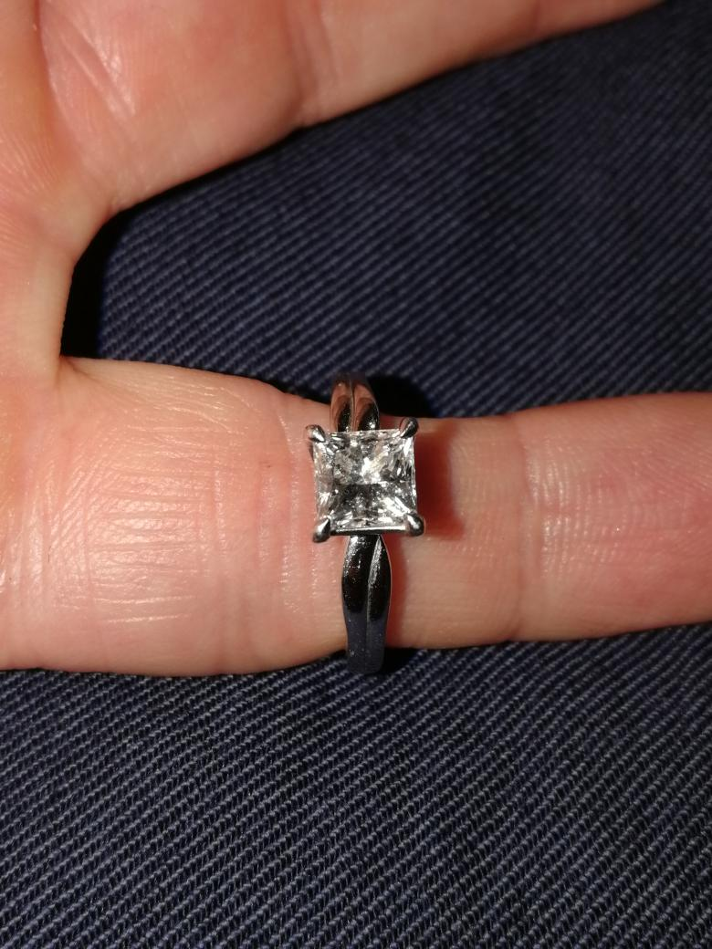 1.03 Carat Princess cut