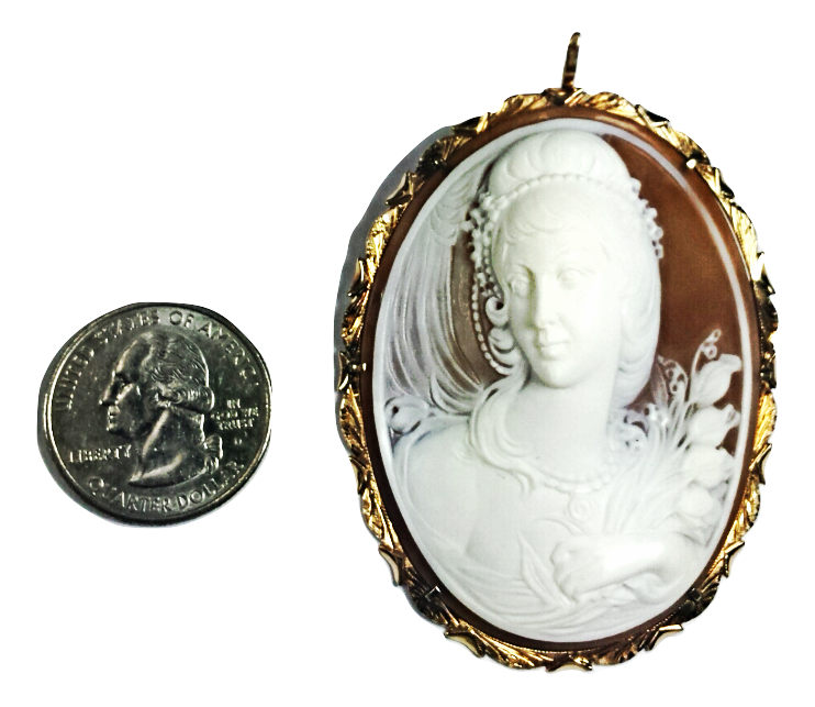 14K CAMEO Collectors Signed